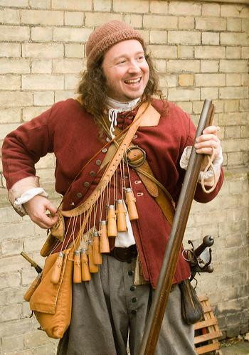Obadiah - Happy Musketeer