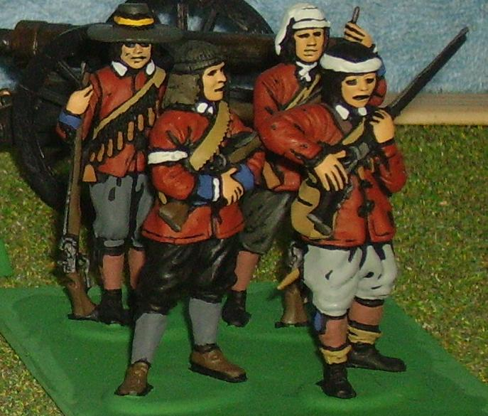 Toy Soldier Musketeers